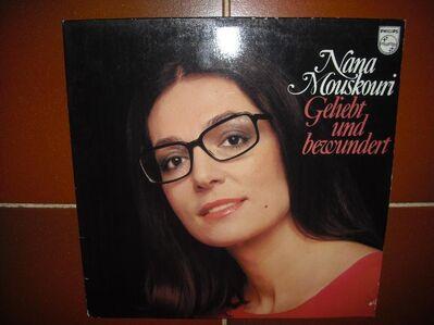 Nana Mouskouri - Geliebt Und Bewundert - Vinyl Langspielplatte (LP) Philips - 661983, - Rosenheim
