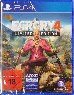 PSP4 FARCRY4 - Limited Edition - wie neu - - Niestetal