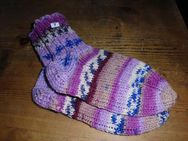 Handgestrickte Socken Gr. 22/23 - Merkelbach