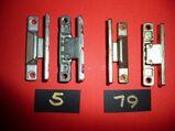 MACO-Mittelbänder in gelb chrom.+silber,neu