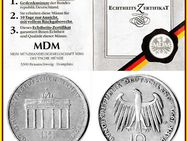 ** 200 Jahre Brandenburger Tor - 10 DM Silber Gedenkmünze - BRD - Nürnberg