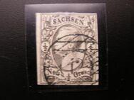 Sachsen 1/2 Neugroschen,1851,Mi:DE 3,Lot 499
