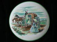 Ü-Keramik Wandteller Teller 25,5 cm Westerwald Ransbach Deko Retro Vintage 5,- - Flensburg