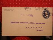 USA Schiffpost-Ganzsache-USA St.Paul-Heidelberg, 1912,Lot 230
