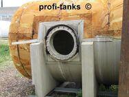 V²A Edelstahltank 7.500 L Lagerbehälter isoliert eine Seite offen - Nordhorn