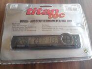 """Titan Tec Innen- Aussenthermometer mit Uhr """" NEU """" - Verden (Aller)"""