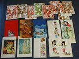 besondere Grußkarten, Weihnachten, Neujahr, Geschenkanhängsel, 21 Stk.