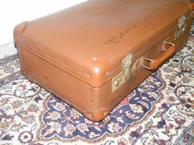 Alter Koffer / Reisekoffer - P7 - Zeuthen