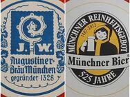Augustiner - Bräu Wagner KG Bierdeckel BD Bierfilz 525 Jahre - Nürnberg