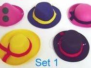 5 Miniaturhüte für Fasching, Silvester usw. - Senftenberg