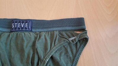 Herren Slip STEVE sexy Männer Men Shorts dunkelgrün - Nürnberg