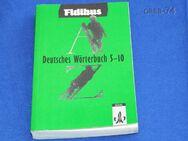 Fidibus  Deutsches Wörterbuch  5 - 10    Klett Schulbuchverlag - Gladbeck Zentrum