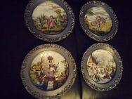 Vier Jahreszeiten Zinntelller Porzellan mit Versand - Marl (Nordrhein-Westfalen)