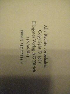 """Spannender Kriminalroman """"Der Richter und sein Henker"""" von Friedrich Dürrenmatt, Diogenes Verlag AG Zürich, stammt 1985, 181 Seiten, ISBN: 3257225350, zum Schutz für weiteren Gebrauch schon eingebunden, sehr guter Zustand, 3,- € - Unterleinleiter"""