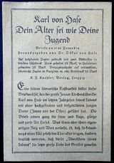 alte Leseproben-Buchbeilage von 1920