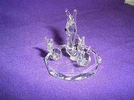Schnecke Familie Glas Bleikristall Figur NEU in Originalverpackung