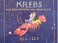 Steins Satirkreiszeichen KREBS mit Zeichnungen von Klaus Puth - Dortmund Aplerbeck
