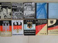 Deutschland im Wiederaufbau 1949 bis 1959, Marshallplan 10 Bücher - Coesfeld