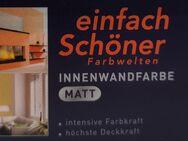 Wilkens einfach Schöner Innenwandfarbe Lebendig Orange, 1 l - Gelsenkirchen
