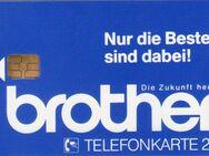 Telefonkarte -Der Firma Brother-  (631) - Hamburg
