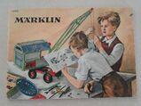 Märklin Anleitung 14910 Metallbaukasten, 32+32 S, Anfang 1960er