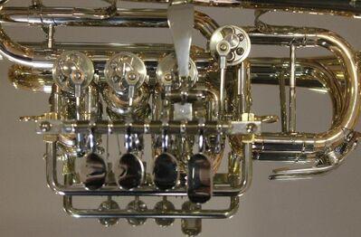 Meister J. Scherzer Piccolo - Trompete, Mod. 8111 - L, Neuware / OVP - Hagenburg