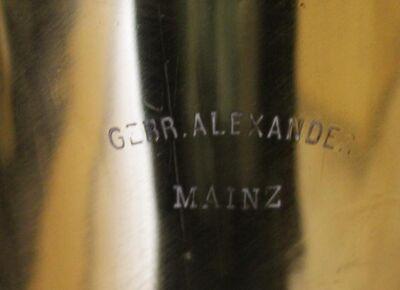 Gebrüder Alexander Mainz B - Tuba gebraucht - Hagenburg