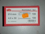 Multidübel 6 mm im Set - Ulmen Ulmen