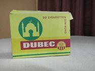 Seltene Zigarettenschachtel Marke Dubec um 1950 mit 10 Zigaretten / Sammler - Zeuthen