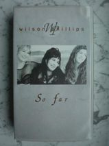 VHS Video Wilson Phillips -So far Videokassette 5,-