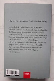 Hans-Ulrich Jörges - Regierung verzweifelt gesucht: Zwischenrufe zum Zustand der Berliner Republik - Nürnberg