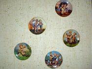 5 original Hummel Wandteller - Melsungen