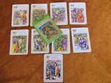 DDR Karten Quartettspiel Robin Hood / Altenburger Spielkartenfabrik 1977