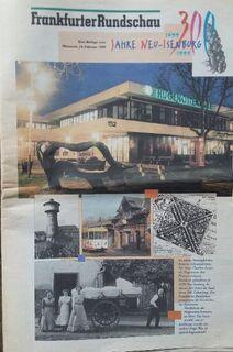"""Fundstück: FR-Sonderbeilage """"300 Jahre Neu-Isenburg"""" von 1999 - Frankfurt (Main) Sachsenhausen-Süd"""