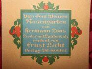 Hermann Löns - aus dem kleinen Rosengarten - Niederfischbach
