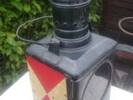 Eisenbahnlampe Bahnlampe Zugschlusslampe Kosmosbrenner Signallampe - Rellingen