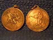 2 alte  unbekannte Sport Medaille - Wuppertal
