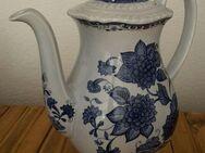 Kaffeekanne Adams Blue Butterfly Keramik - Dortmund Aplerbeck