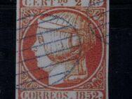 Spanien 2 Real Isabella II.,1852,Mi:ES 14 ,Lot 1269