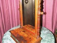 Antikes Schminktischchen + Spiegel / alter Kosmetikschrank - schränkchen um 1900 - Zeuthen