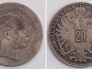 Österreich ,20 Kreuzer 1869,Franz I.,  Lot 266