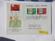 Schweiz Narba Briefumschlag 1965 Mi.Nr.810,Lot 136