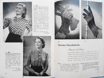 Versandhauskatalog F. W. Hofmann & Co. Chemnitz. Wir lassen uns schicken. Frühjahr/Sommer 1939 - Königsbach-Stein