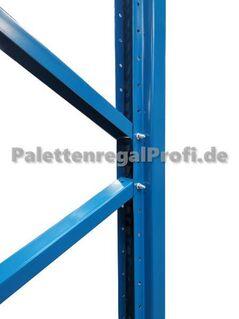 Palettenregal Hochregal NEU H:4,50 m 84 Paletten 19,60 m - Wilhelmshaven