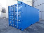 20 Fuß Seecontainer Lagercontainer neuwertig in Farbe RAL5010 Enzianblau - Hamburg