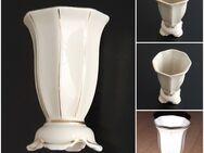 antike elfenbeinweiße Miniaturvase Porzellanfabrik Martinroda Thüringen - Nürnberg