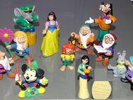 WALT DISNEY BULLYLAND Figuren Micky Maus-Goofy 7 Zwerge Pumuckel Benjamin Blümchen mit Spitzer - Spraitbach