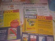 PC-DVD Top Programme aus Hefte PC-Welt/Com - Zerbst (Anhalt) Zentrum