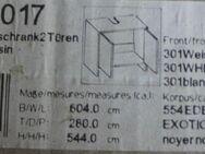 Neuer orginalverpackter Waschbecken Unterschrank mit zwei Türen - Bad Belzig