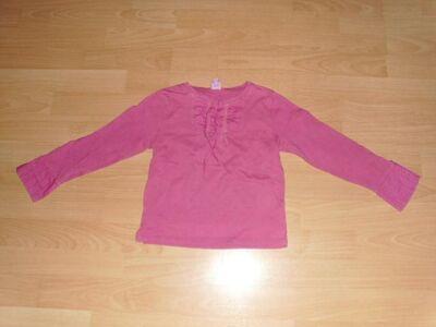 Langarmshirt von Tik & Tak, rosa, Gr. 116 - Bad Harzburg Zentrum